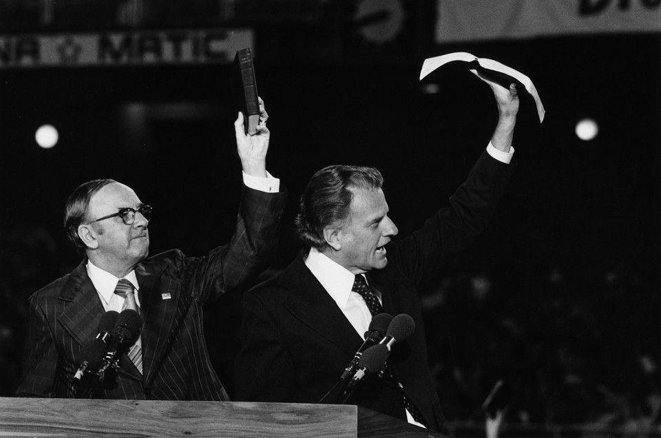 """""""God is a God of love, a God of mercy,"""" Billy Graham said. """"He has the hairs of your head numbered. ... He wants to come into your life and give you new hope."""" https://billygraham.org/gallery/billy-graham-in-rio-de-janeiro-brazil/"""