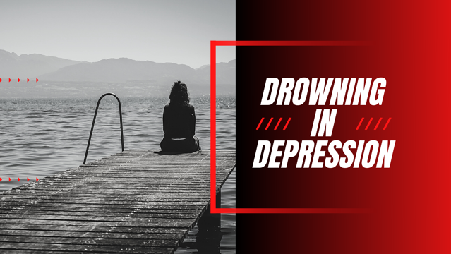 blog drowning in depression mia