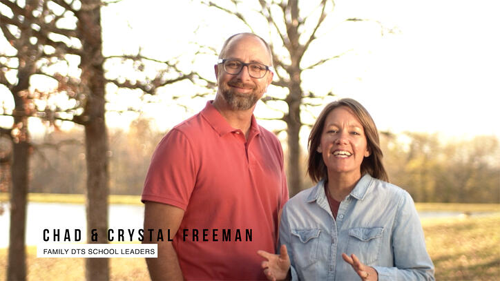 chad and crystal freeman family dts leaders