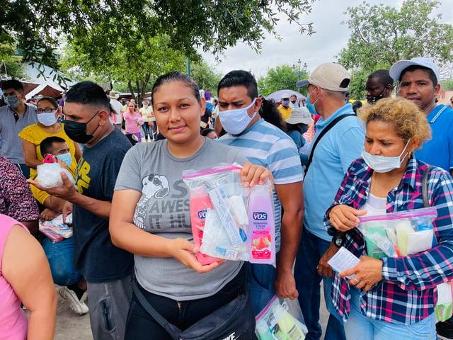 humanitarian packs