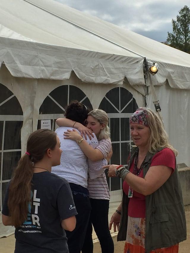 mia davids tent prayer healing