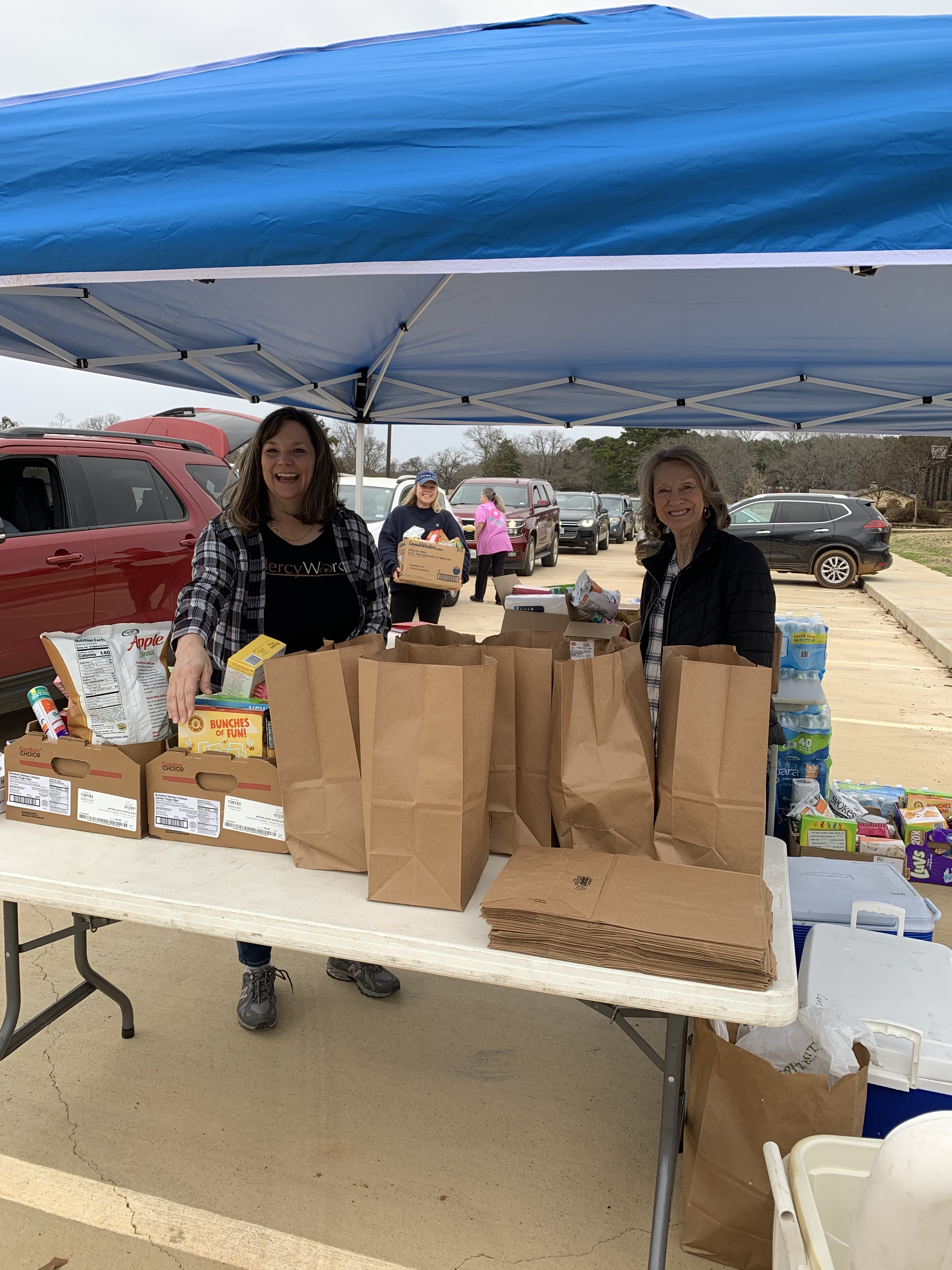 ywam tyler mercy works giving food away missions
