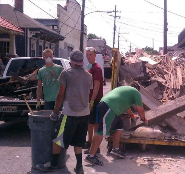 ywam-tyler-nola-steve-bronwen-niles-hurricane-cleanup